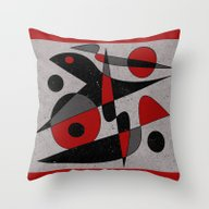 Abstract #110 Throw Pillow