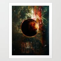 DUNE Planet Arrakis Post… Art Print