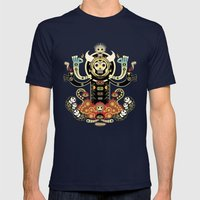 Manitou Mens Fitted Tee Navy SMALL