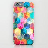 Crystal Bohemian Honeyco… iPhone 6 Slim Case