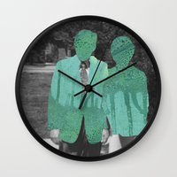 Under the Mask Wall Clock