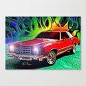 1976 Chevy Monte Carlo Canvas Print