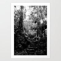 Australia B/W Art Print