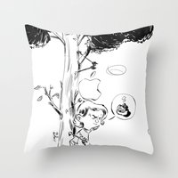Guillaume Tell 2.0 Throw Pillow