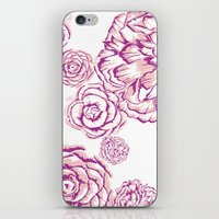 Bloom - Pink iPhone & iPod Skin