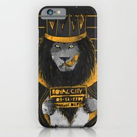 iPhone & iPod Case featuring Royal Mugshot by choppre