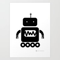 ROBOT Number Three Art Print
