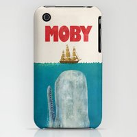 iPhone 3Gs & iPhone 3G Cases featuring Moby  by Terry Fan