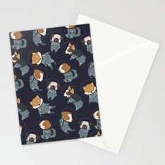 Space Dogs Stationery Cards