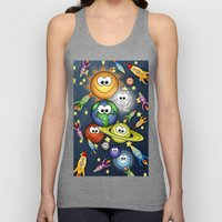 Solar Spaced Out. Unisex Tank Top