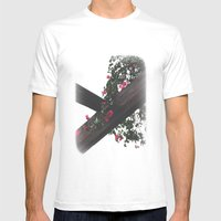 Wooden & Flowers Mens Fitted Tee White SMALL