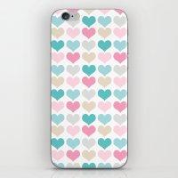 Sweet Hearts iPhone & iPod Skin