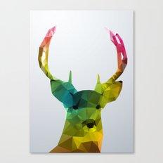 Glass Animal - Deer head Canvas Print