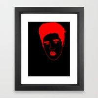 I __ Rock Framed Art Print