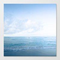Calm Day Ver.blue Canvas Print