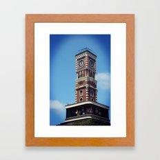CLOCKTOWER Framed Art Print