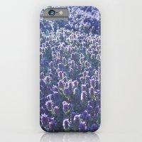 iPhone & iPod Case featuring Lavendar Sunset by Jean Ladzinski