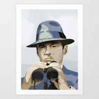 Binoculars Art Print