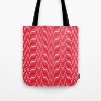 Red Zebra Tote Bag