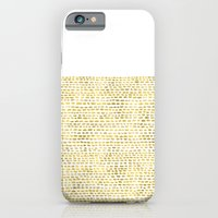 iPhone Cases featuring Riverside Gold by Jacqueline Maldonado