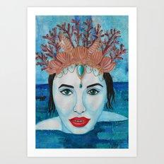 Mermaids - Sophie Art Print