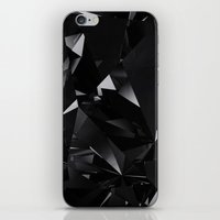 BLACK FOR CASE iPhone & iPod Skin
