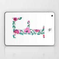 MONOGRAMS - F Laptop & iPad Skin