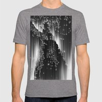 Light My Way Mens Fitted Tee Tri-Grey SMALL