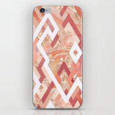 Pink Geometrics iPhone & iPod Skin