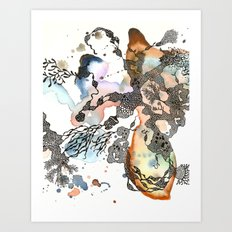 Is that a sea plant or a sea animal?  Art Print