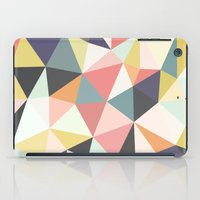 iPad Case featuring Deco Tris by Beth Thompson