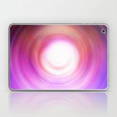 Purple and White Swirl Laptop & iPad Skin