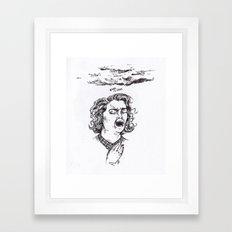 Laura's dead Framed Art Print