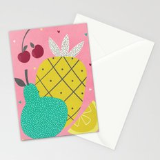 Tropical Fruits Stationery Cards
