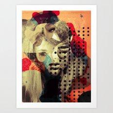 Diven Mix 2 Art Print