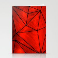 Modern Abstract Triangle… Stationery Cards
