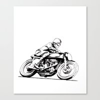 Norton Vintage Motorcycl… Canvas Print