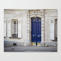 Blue Door Canvas Print