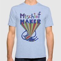 Mischief Maker Mens Fitted Tee Athletic Blue SMALL