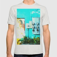 #KEY WEST POETRY By Jay … Mens Fitted Tee Silver SMALL