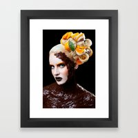 Chocolate Orange Framed Art Print