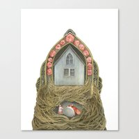 Sweet Home II // Polansh… Canvas Print