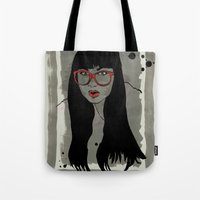 Never met a Hipster that really needs glasses Tote Bag