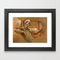 The Foreman Framed Art Print