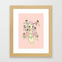 FAIRY DUST Framed Art Print