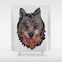Wolf Mother Shower Curtain