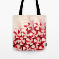 Candy Canes Tote Bag