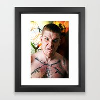 Prison Break Framed Art Print