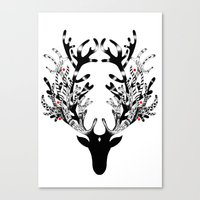 Deer, Oh Dear Canvas Print