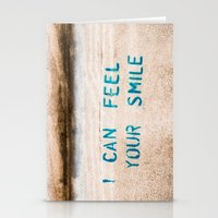 I Can Feel Your Smile Stationery Cards